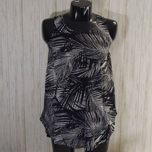 Swimsuit Black & White Coverup NEW